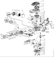 Запчастини до бензинової газонокосарки HYUNDAI L-5500 S Engine