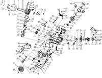 Запчастини до бензопили HYUNDAI X-460