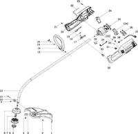 Запчастини до електричного тримера HYUNDAI Z-700