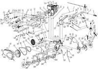 Запчастини до культиватора HYUNDAI T-800
