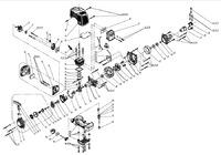 Запчастини до мотокоси HYUNDAI Z-250