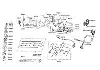 Запчастини до електричного кущорізу AL-KO HE 450S (UK) (112144)