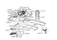 Запчастини до повітродувки AL-KO BLOWER VAC 2400 E SPEED-CONTROL (112727)