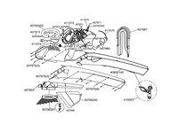 Запчастини до повітродувки AL-KO BLOWER VAC 2200 E (UK) (112735)