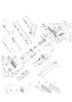 Запчастини для електропили AL-KO EKS 2000/35 (112807)