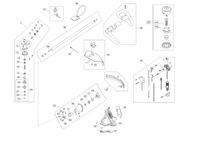 Запчастини до мотокоси AL-KO BC 410 II Comfort (112864)