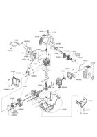 Запчастини до мотокоси бензинової AL-KO BC 400 L Comfort 113759