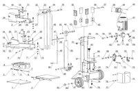 Запчастини вертикального дровокола AL-KO LSV 550/6 113788
