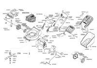 Запчастини до газонокосарки бензинової AL-KO Powerline 4200 B (119196)