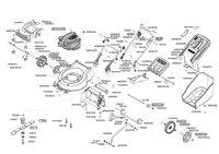Запчастини до газонокосарки бензинової AL-KO Powerline 4200 B (119258)