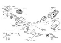 Запчастини до газонокосарки бензинової AL-KO Powerline 4200 B (119277)