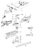 Запчастини для акумуляторного кущоріза Solo by AL-KO 168 A (126505)