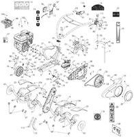 Запчастини для мотокультиватора Solo by AL-KO 510HV (126556)