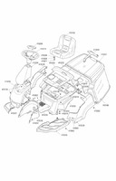 Запчастини для трактора- газонокосарки Solo by AL-KO 566 H (126608)