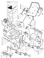 Запчастини для електричного аератора Solo by AL-KO 516 (126612)