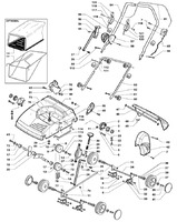 Запчастини для аератора електричного Solo by AL-KO 518 (126613)