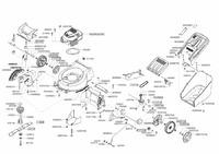 Запчастини для газонокосарки бензинової Solo by AL-KO 5255 VS (127121)