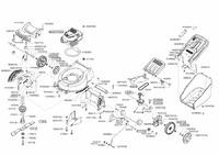 Запчастини для газонокосарки бензинової Solo by AL-KO 4755 VS (127122)
