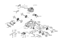 Запчастини для газонокосарки бензинової Solo by AL-KO 4605 SP BIO (127128)