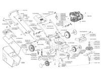 Запчастини для газонокосарки бензинової Solo by AL-KO 582 (127129)
