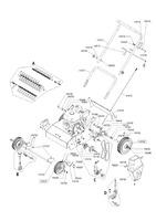Запчастини до бензинового аератора Solo by AL-KO 4005 VB (127320)