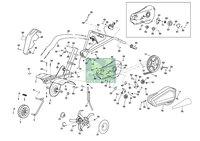 Запчастини до культиватора Oleo-Mac MH 150RK