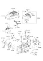 Запчастини для двигуна AL-KO LC1 P65 FA 5 PS WL80 E-START 441360