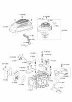 Запчастини для двигуна AL-KO PRO 160 QSS LC1 P65 FA 5 PS LONCIN  (463692)