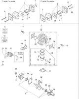 Запчастини до бензопили Oleo-Mac 952