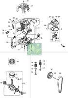 Запчастини до мотокоси Oleo-Mac BC 360 4S