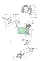 Запчастини до мотокоси Oleo-Mac SPARTA 44