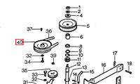 Шків культиватора AL-KO MH 4000 P109260005280