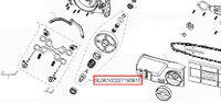 Шестерня привода електропилки Solo by AL-KO 621/40 SL06100227190815