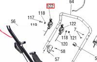 Ручка газа аератора Solo 518 SL2076720