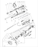 Запчастини до електричного тримера HYUNDAI GC 550