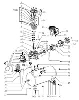 Запчастини до компресора HYUNDAI HYC 2050
