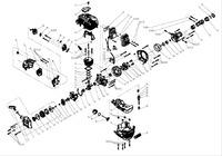 Запчастини до мотокоси HYUNDAI Z-525