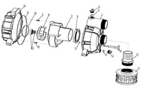 Запчастини до мотопомпи HYUNDAI HYT-80